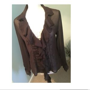 Victorian sheer  Blouse